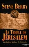 le temple de jérusalem, steve berry